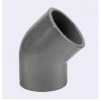 PVC Kulma 45 ast. 40 mm.