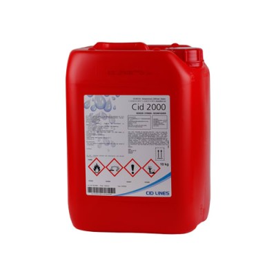 Juomalaitteiden puhdistus- ja desinfiointiaine CID 2000