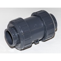 PVC Jousikuormitteinen takaiskuventtiili 40mm
